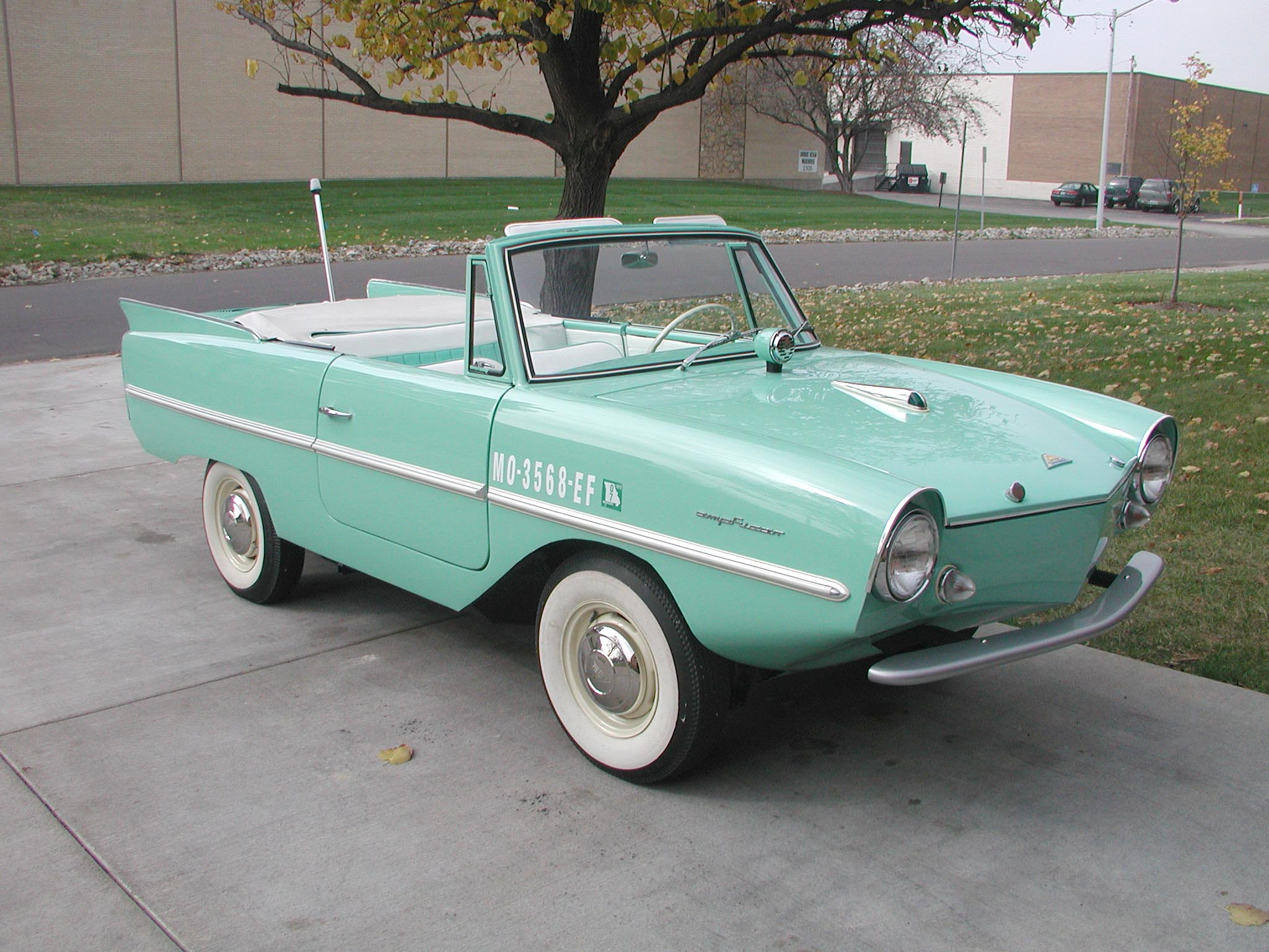 Amphicar Model 770 Photos Reviews News Specs Buy Car
