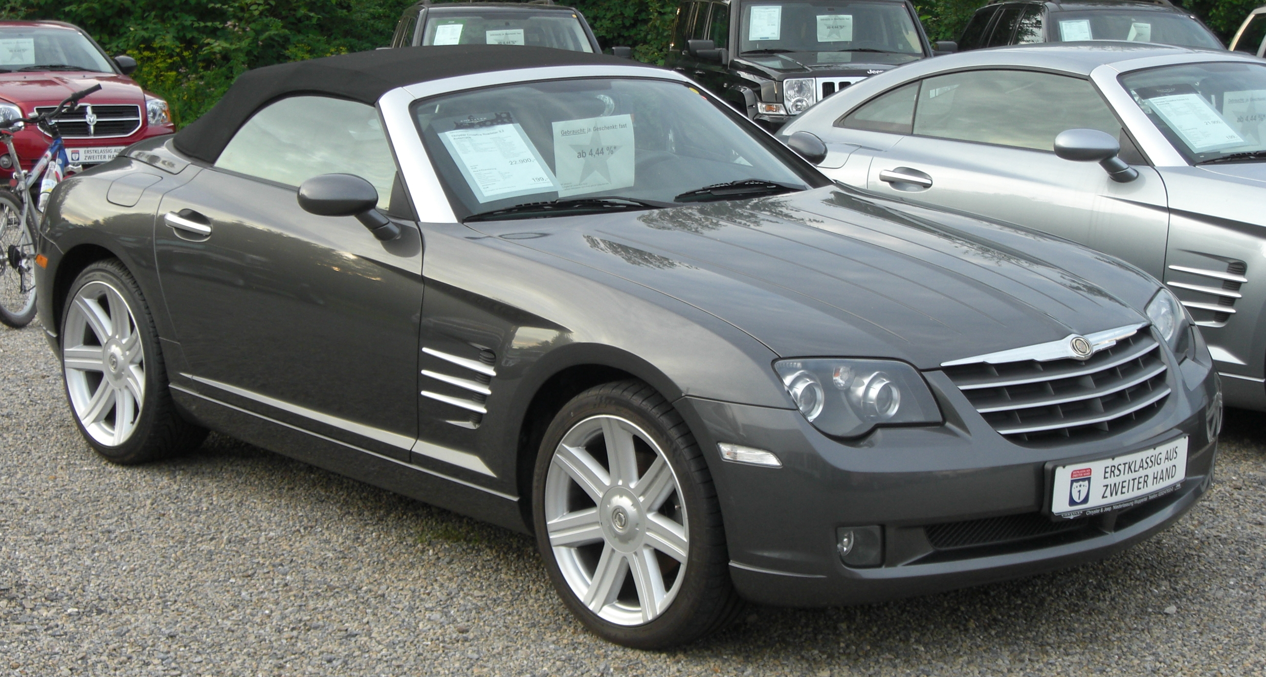chrysler crossfire roadster picture 10 reviews news. Black Bedroom Furniture Sets. Home Design Ideas