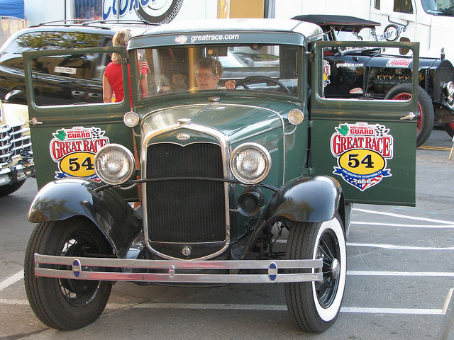 Ford Model A Rumble Seat Coupe 54