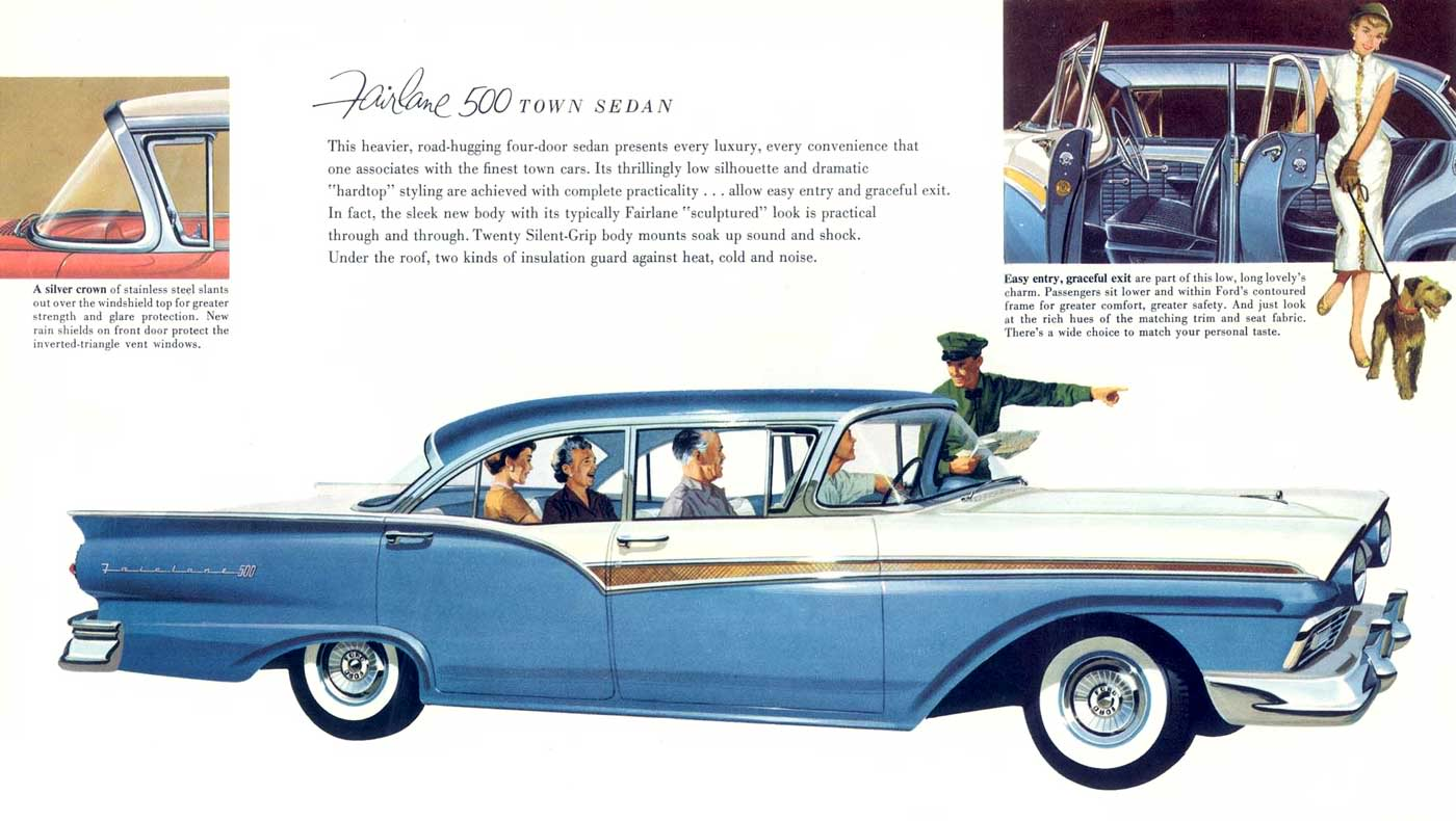 1957 ford car viewing gallery