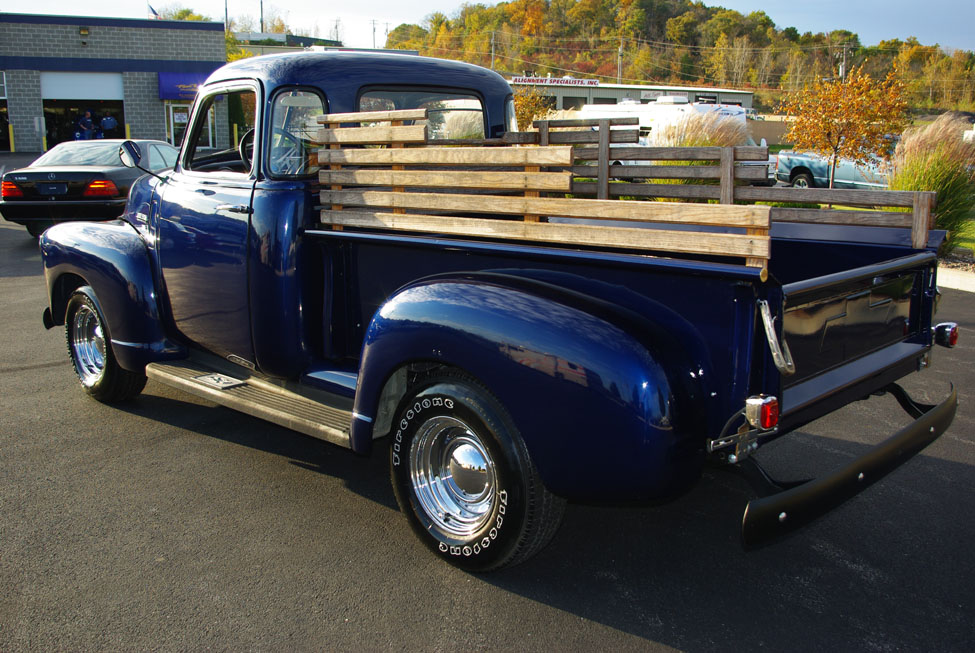 1950 5 window chevy pickup images
