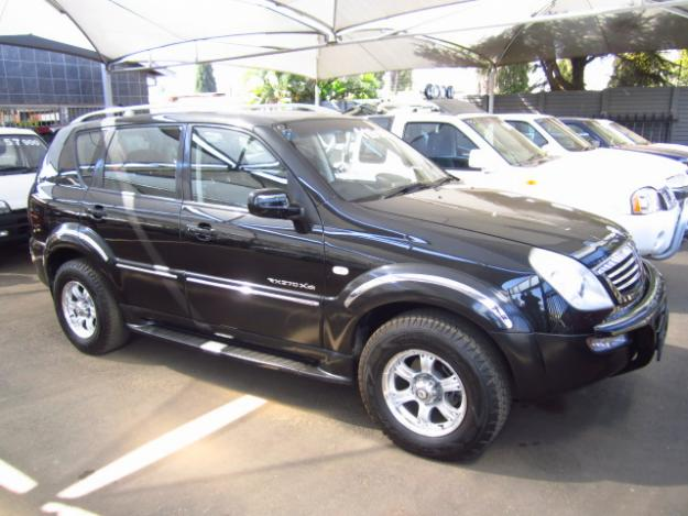 ssangyong rexton rx 270 xdi picture 12 reviews news. Black Bedroom Furniture Sets. Home Design Ideas