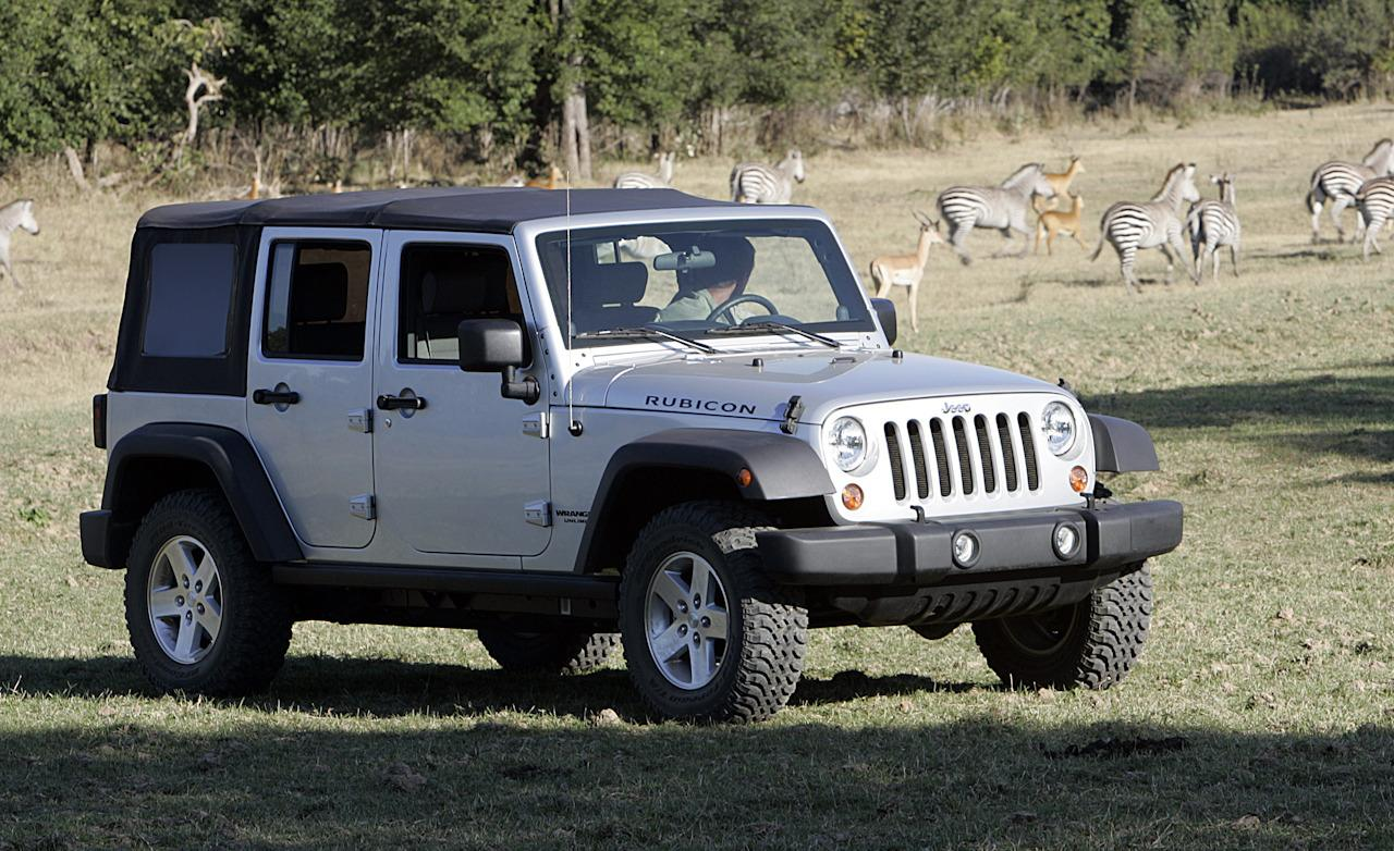Jeep Wrangler Unlimited Rubicon Photos Reviews News