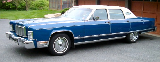 Lincoln Continental Town Sedan Picture 6 Reviews News Specs