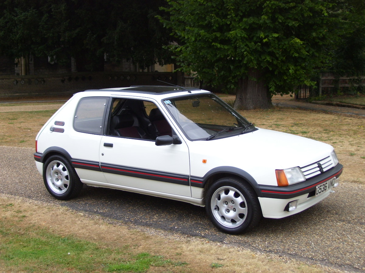 Peugeot 205 gti 19 picture 9 reviews news specs buy car for Housse 205 gti