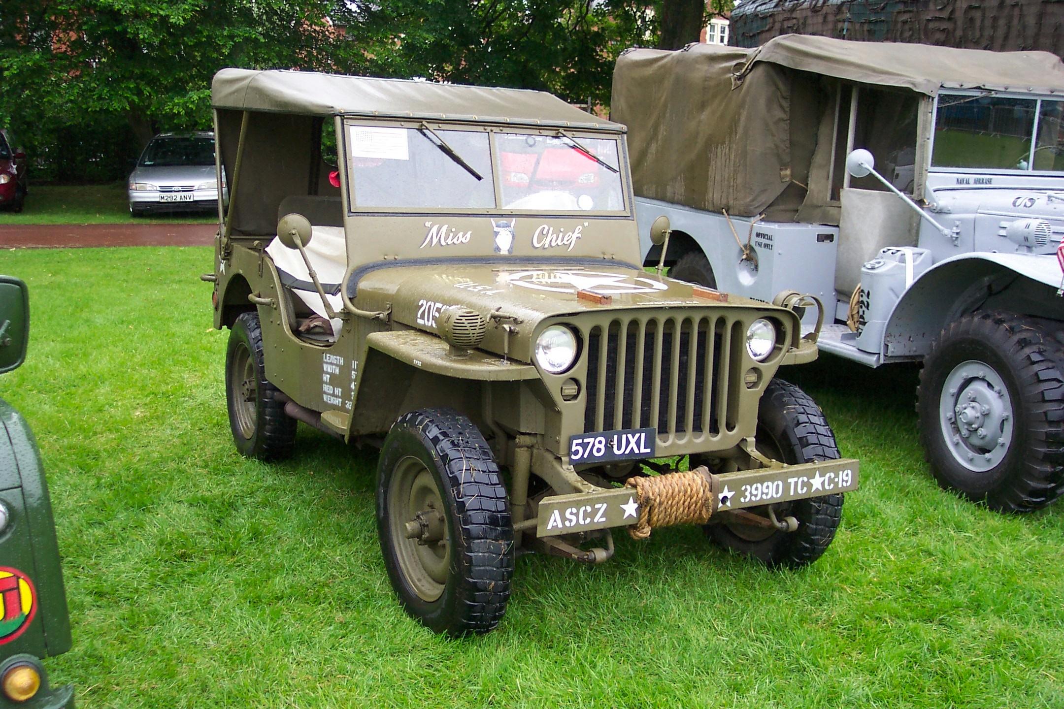 Willys Mb Jeep Uxl
