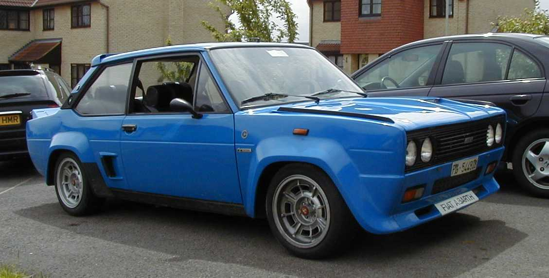 Fiat 131 Abarth Picture 9 Reviews News Specs Buy Car