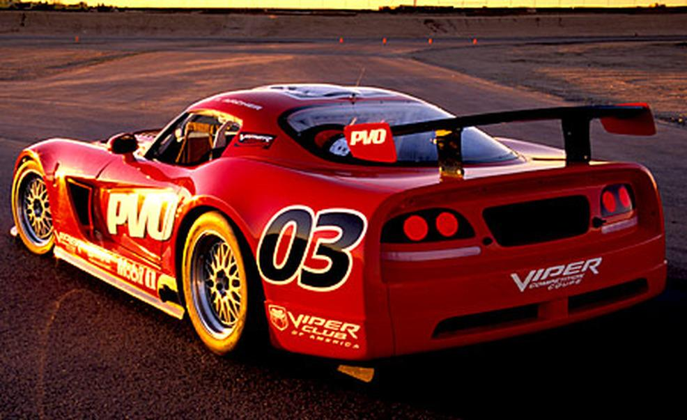 Racing In Car >> Dodge Viper Competition Coupe group GT2 (2006) - Racing Cars