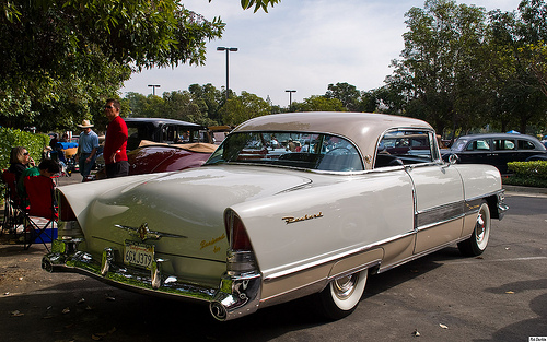 Packard Fourhundred coupe