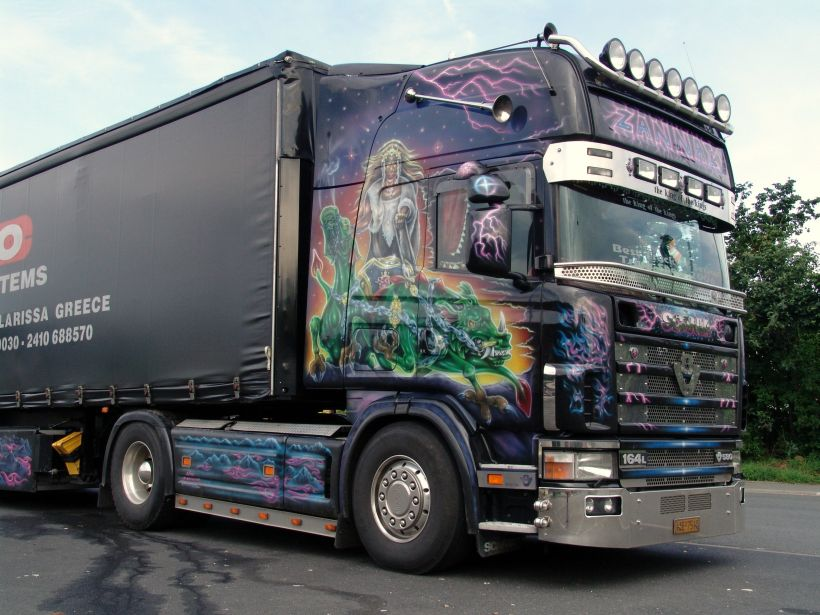 Scania 164L 580:picture # 6 , reviews, news, specs, buy car