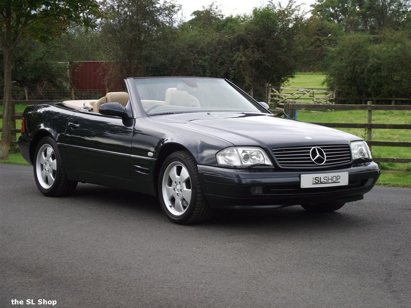 Mercedes Benz Sl320 Picture 5 Reviews News Specs