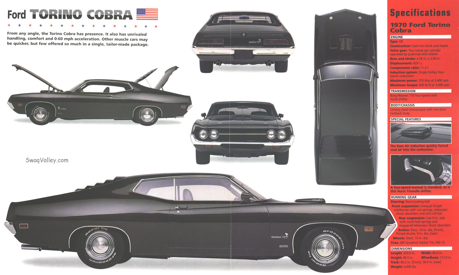 Ford Torino Gt Cobra Picture 10 Reviews News Specs Buy Car