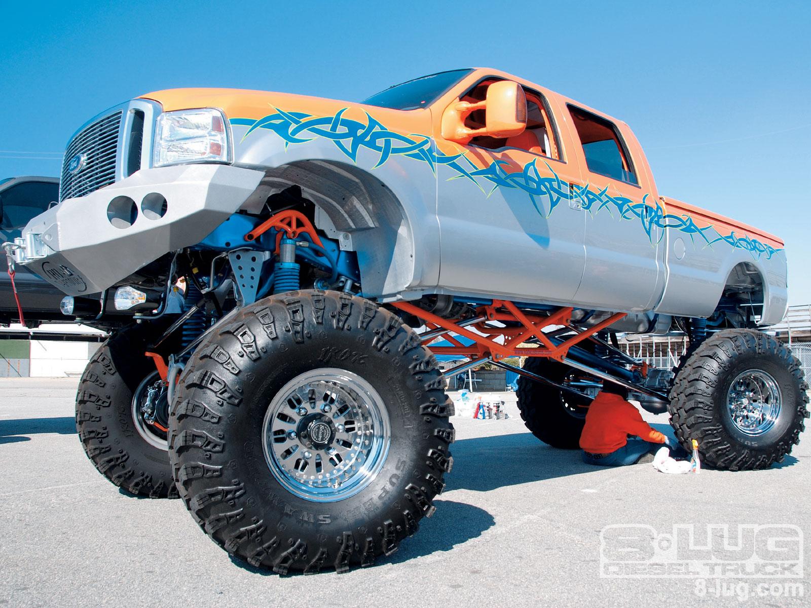 Ford Truck Limo Limo Monster Truck Monster