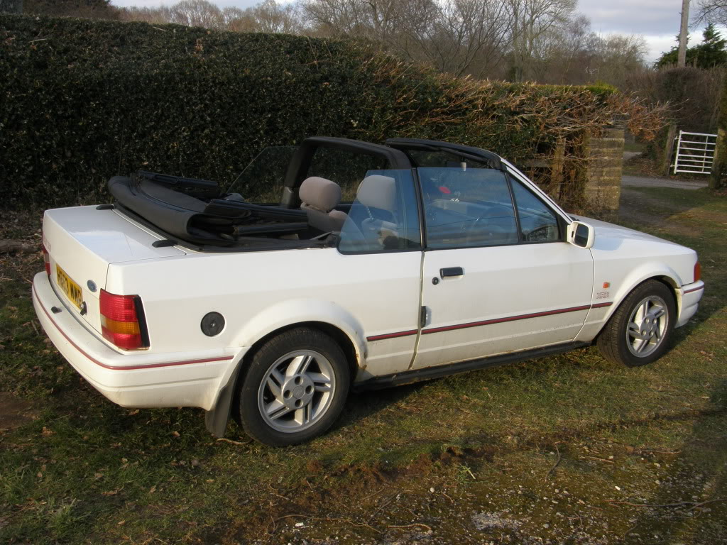 ford escort xr3 cabriolet picture 11 reviews news specs buy car