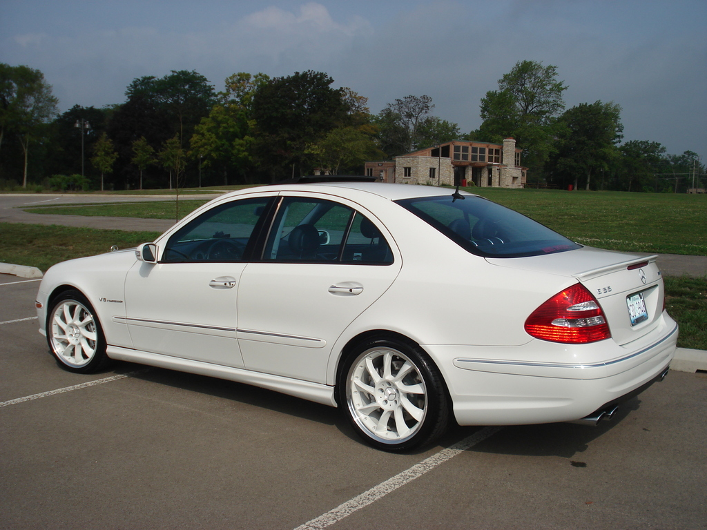 Mercedes benz e55 amg picture 4 reviews news specs for Mercedes benz e55