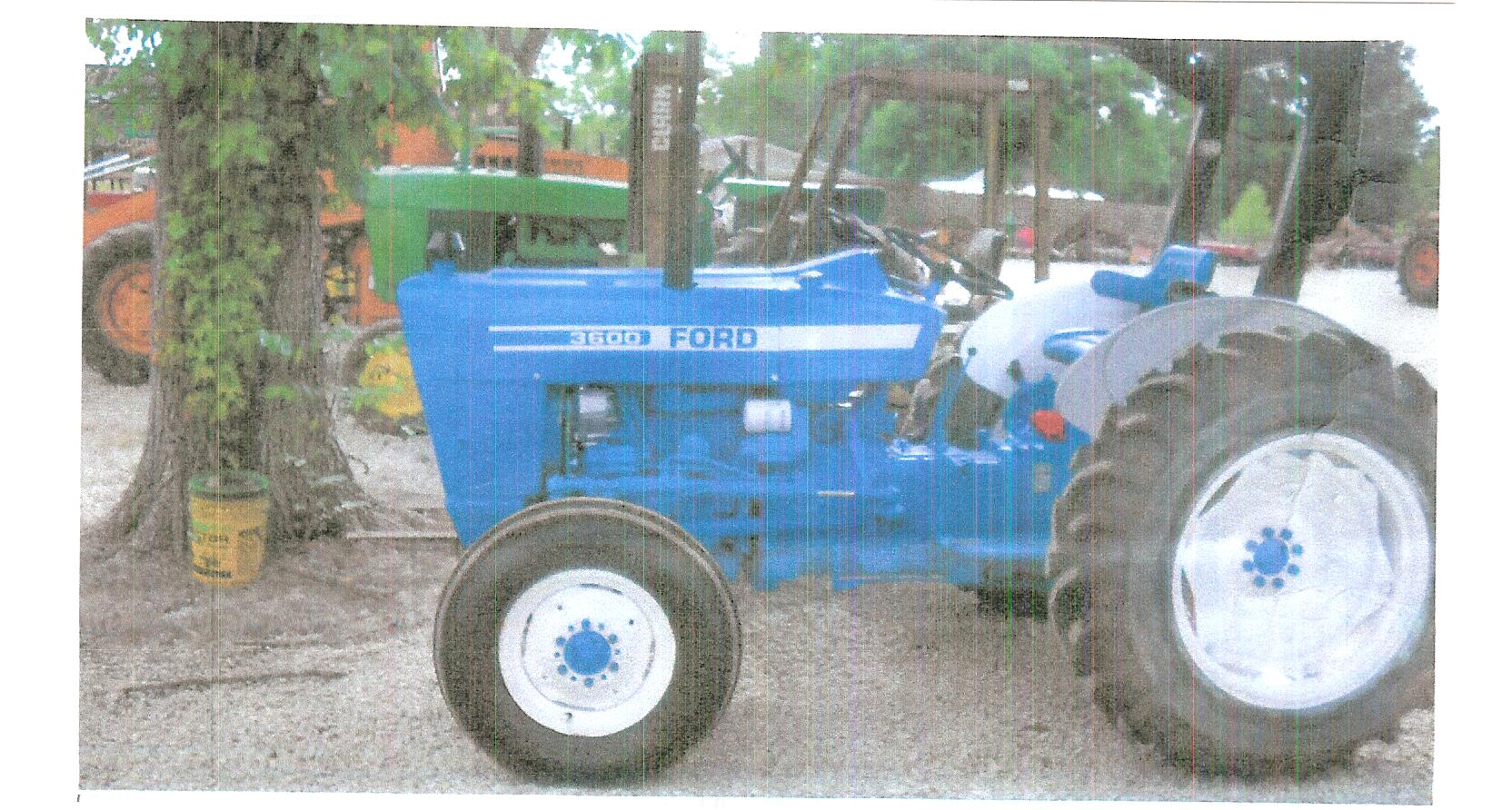 Ford 3600 Tractor Data : Ford specs
