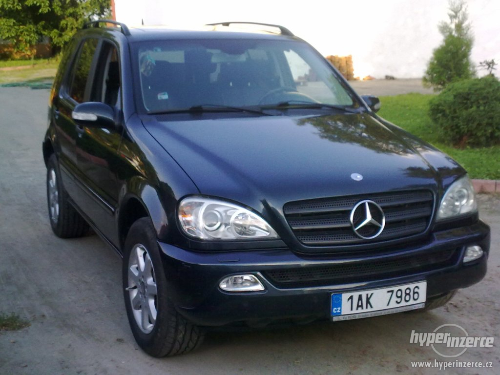 mercedes benz ml 270 cdi final edition photos reviews news specs buy car. Black Bedroom Furniture Sets. Home Design Ideas