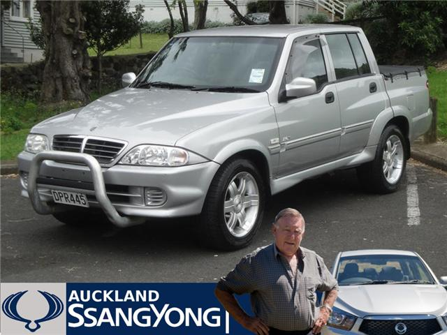 Ssangyong Musso Sport 290s Picture 8 Reviews News