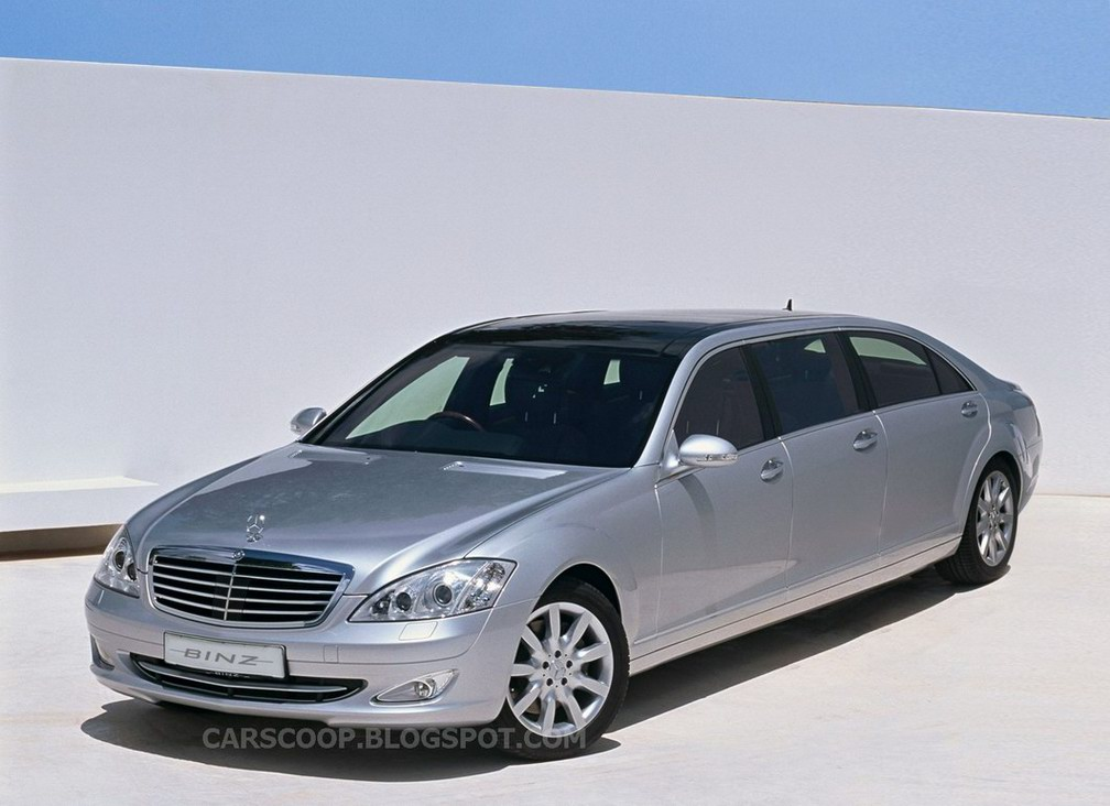 Mercedes benz limousine photos reviews news specs buy car for Mercedes benz limo