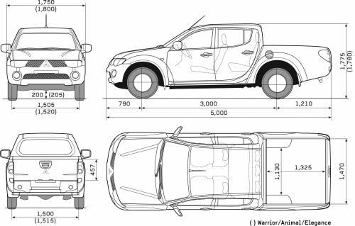 Mitsubishi L200 Double Cab:picture # 7 , reviews, news