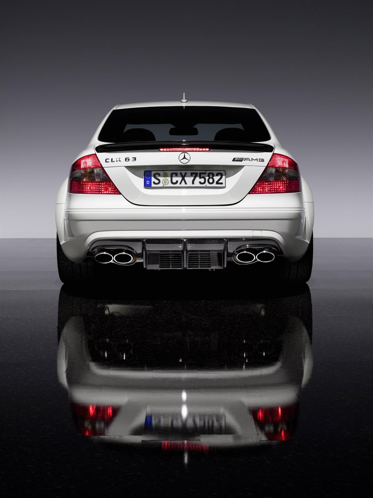 mercedes benz clk63 amg black series photos reviews news specs buy car. Black Bedroom Furniture Sets. Home Design Ideas