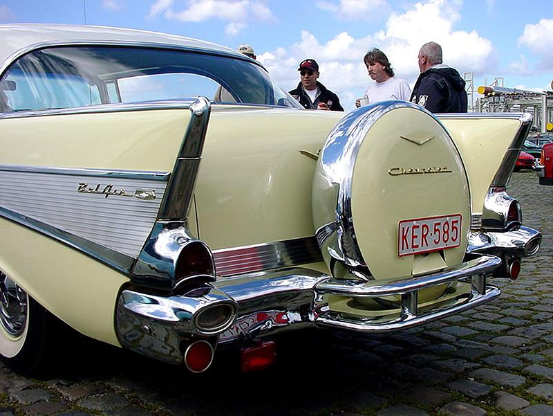 Chevrolet Bel Air continental kit