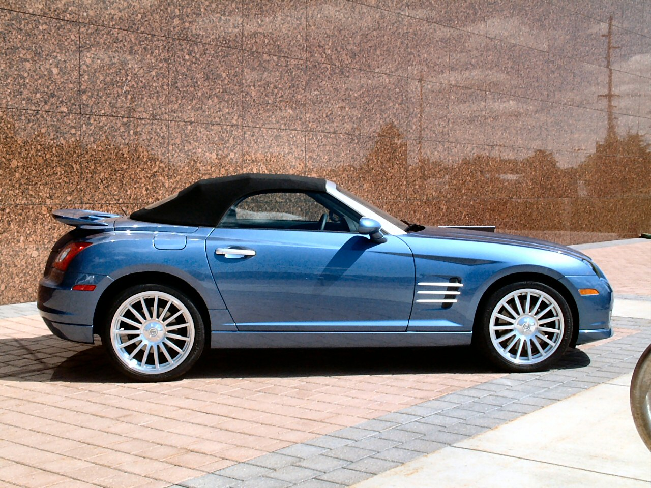 Chrysler crossfire srt6 roadster photos picture 3