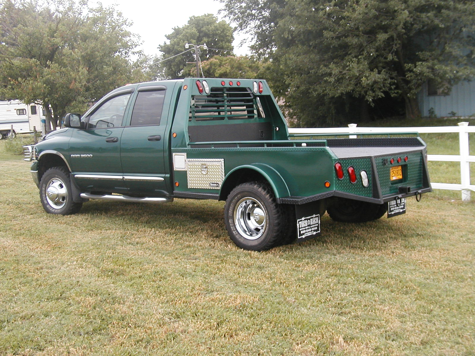 Flatbed Landscape Trucks Dodge Flatbed Truck Beds