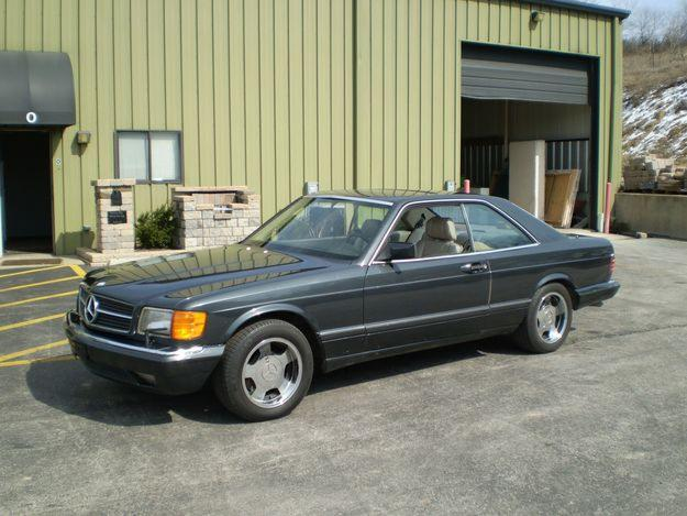 Mercedes benz 560sec picture 4 reviews news specs for 1986 mercedes benz 560 sec