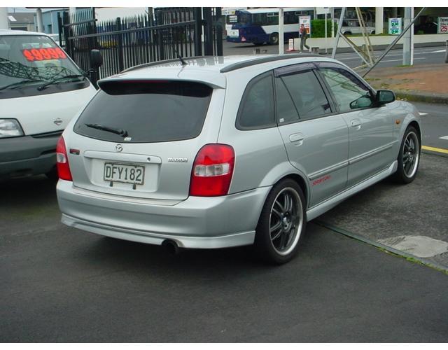Mazda familia sport 20 picture 6 reviews news specs buy car
