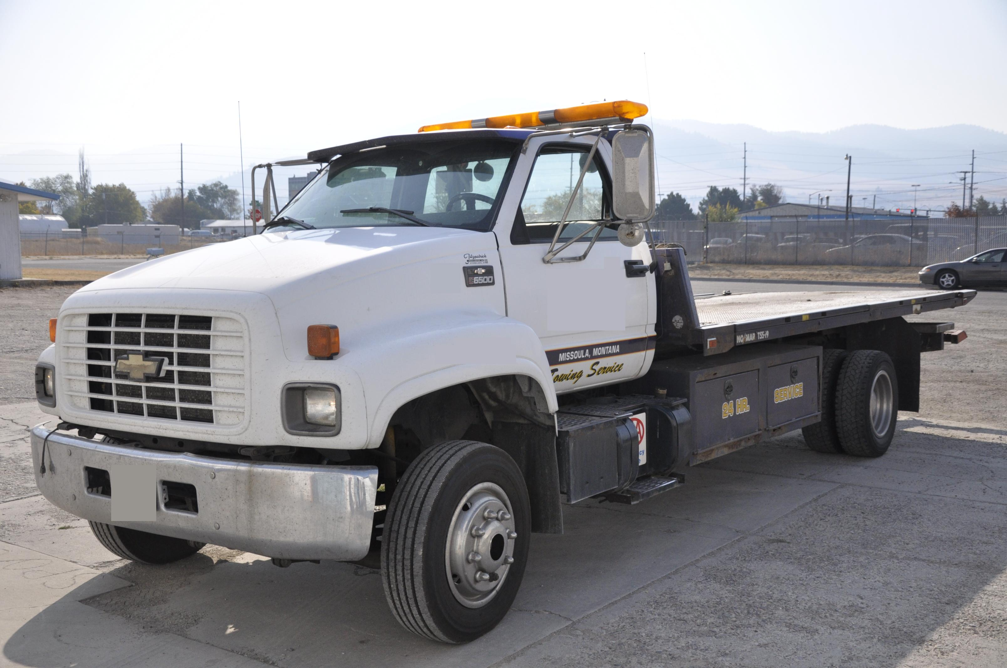 Chevrolet C6500 Rollback Tow Truck Used Chevrolet C6500