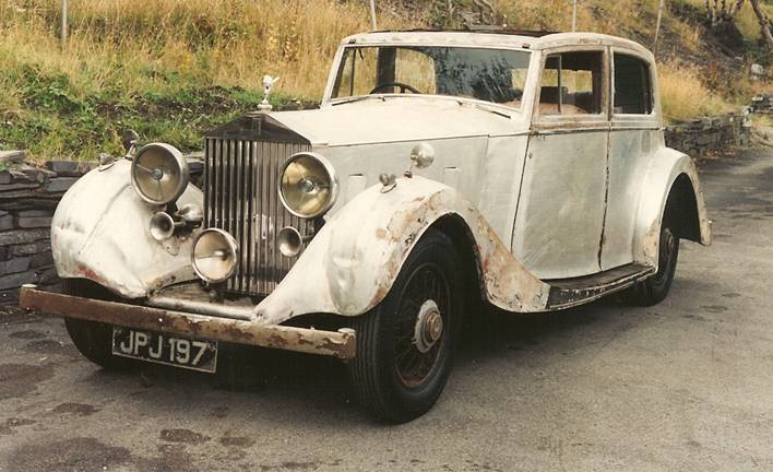Rolls Royce 2530 Hooper Sedanca