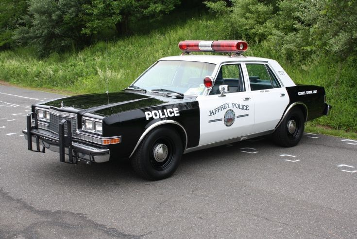 Plymouth Fury Police Car For Sale