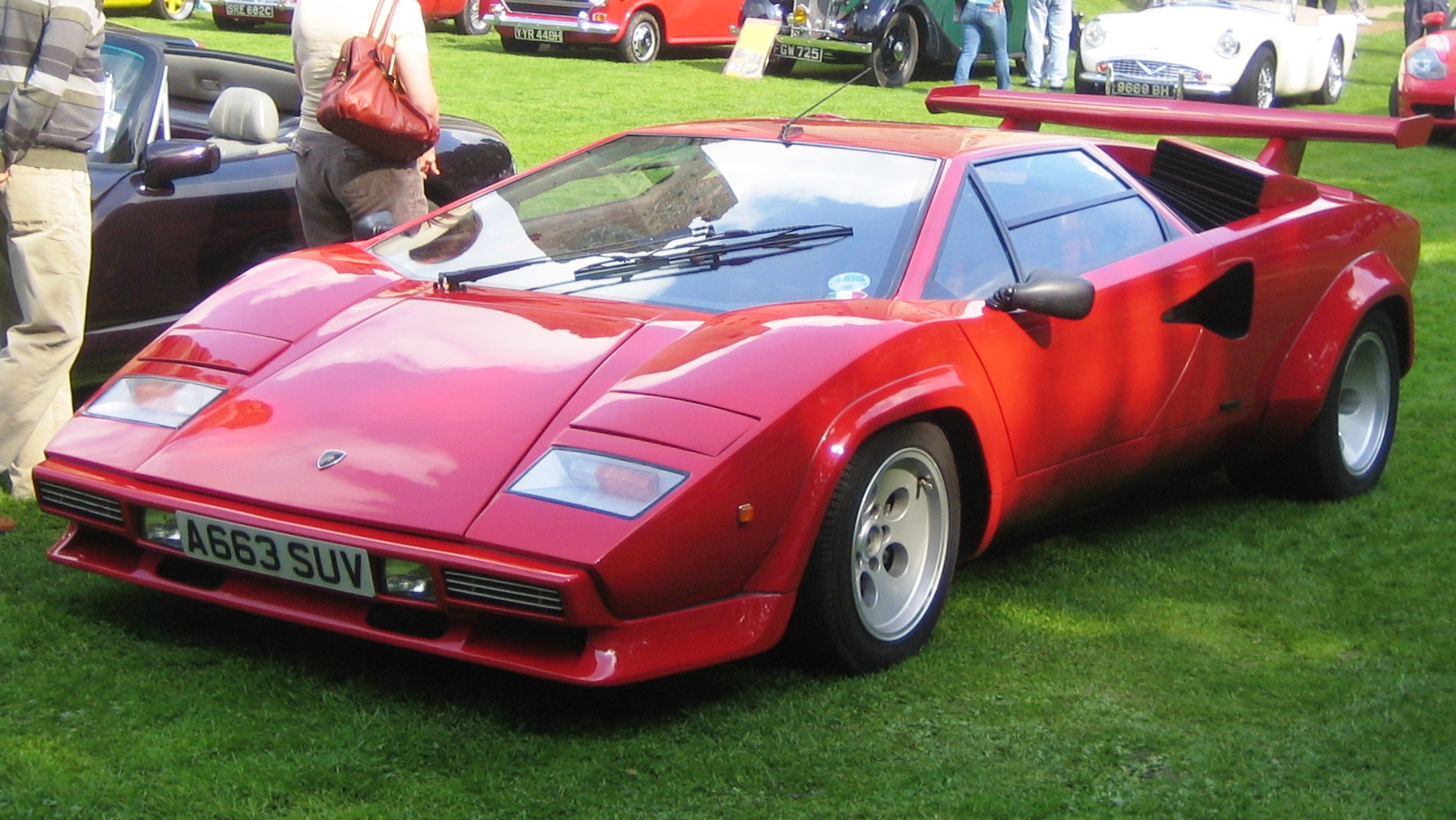 Lamborghini Countach Lp 500 Picture 8 Reviews News