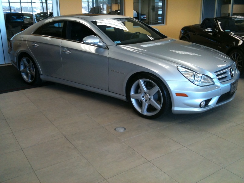 mercedes benz cls55 amg for sale