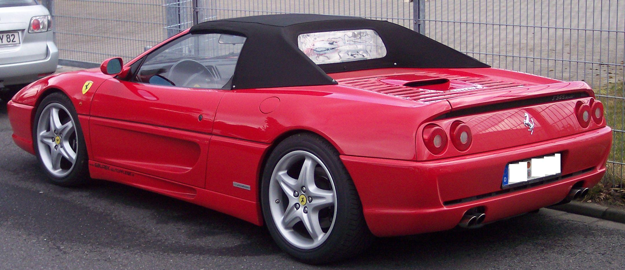 Ferrari F355 Spider Picture 8 Reviews News Specs Buy Car