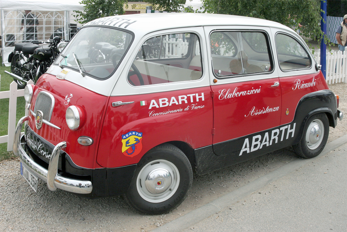 Fiat 600 Multipla Abarth Picture 14 Reviews News