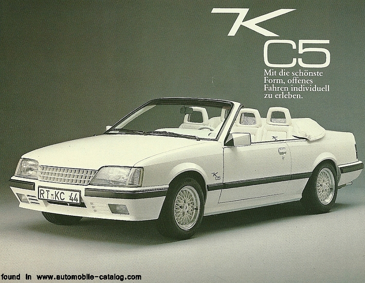 opel monza gse cabrio by keinath photos reviews news specs buy car. Black Bedroom Furniture Sets. Home Design Ideas