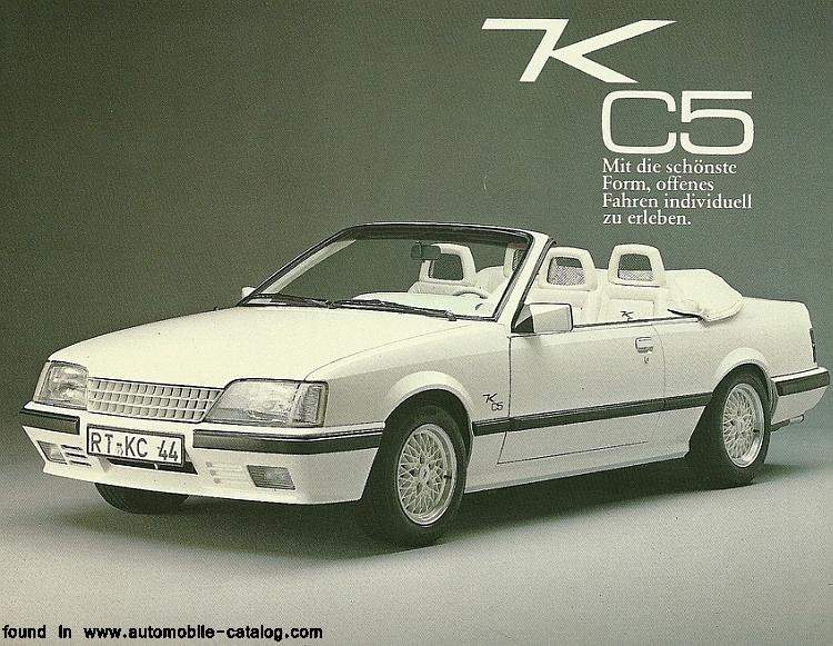 opel monza gse cabrio by keinath photos reviews news specs buy car. Black Bedroom Furniture Sets. Home Design Ideas