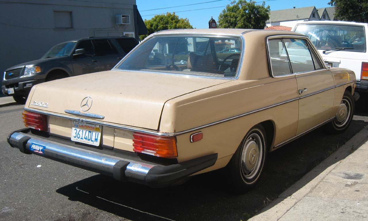 Mercedes benz 280c photos reviews news specs buy car for Buy a mercedes benz