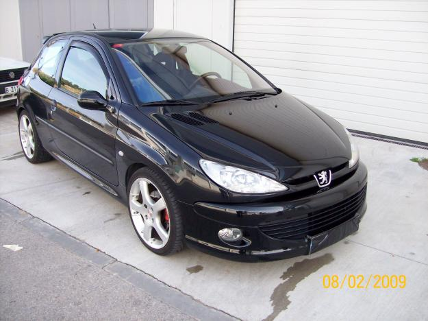 peugeot 206 xs picture 10 reviews news specs buy car. Black Bedroom Furniture Sets. Home Design Ideas
