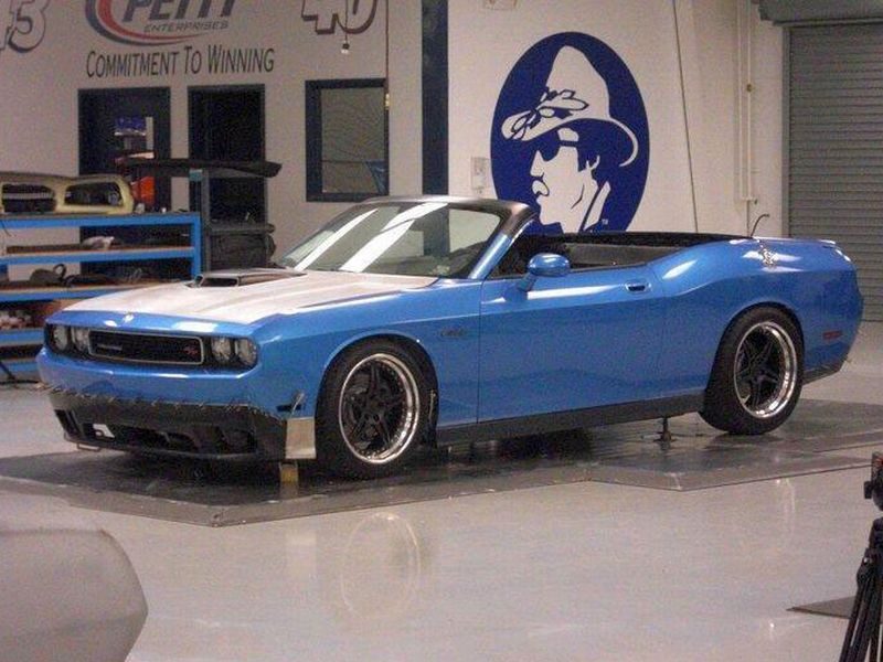 Dodge Challenger Convertible >> Dodge Challenger Convertible Picture 12 Reviews News