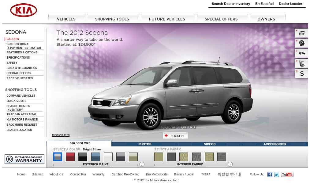 Kia Sedona Picture 9 Reviews News Specs Buy Car