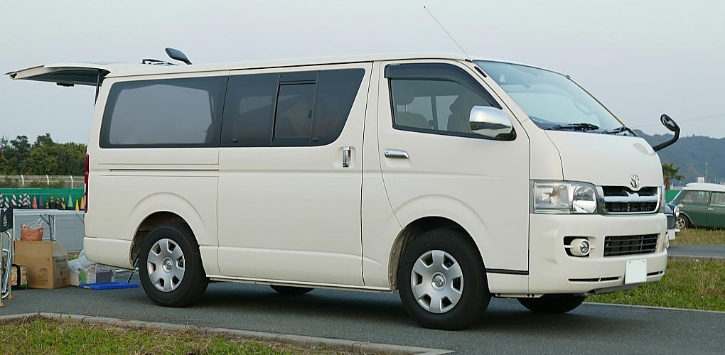 Unique Automatic Diesel Super Long Wheelbase  HiAce Van Toyota