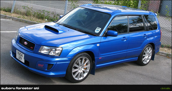 Subaru Forester STi:picture # 9 , reviews, news, specs ...