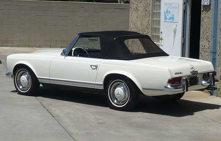 Mercedes benz 230sl photos reviews news specs buy car for Mercedes benz 230sl