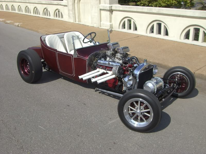 Ford Brizio T-Bucket VolksRod with Blown VW Rear Engine