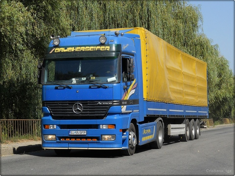Mercedes-Benz Actros MP1:picture # 14 , reviews, news, specs