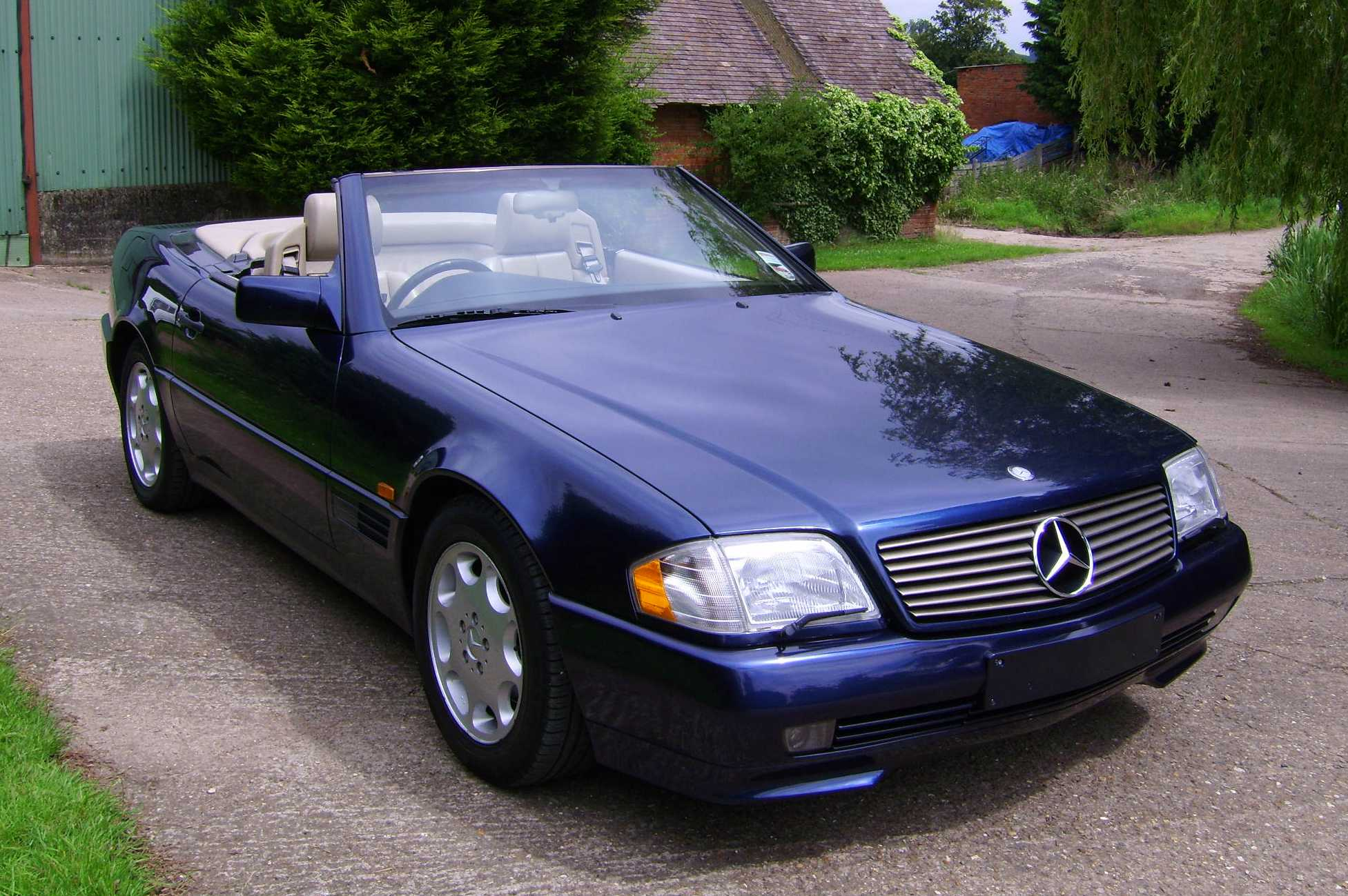 mercedes benz sl 320 picture 14 reviews news specs buy car. Black Bedroom Furniture Sets. Home Design Ideas