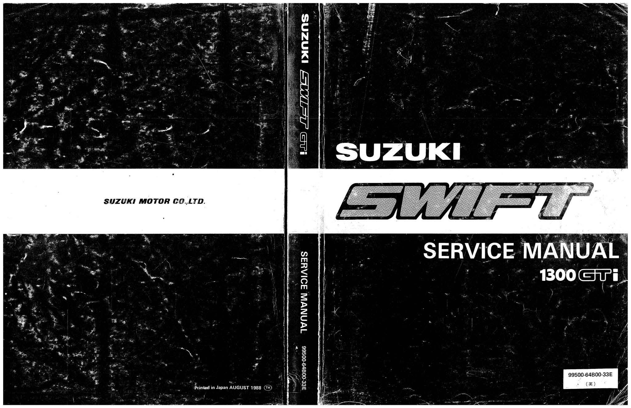 1989 suzuki swift gti specs